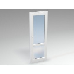 Дверь ПВХ балконная DEXEN 750х2200