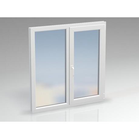 Окно ПВХ двухсекционное DEXEN 1100x1390